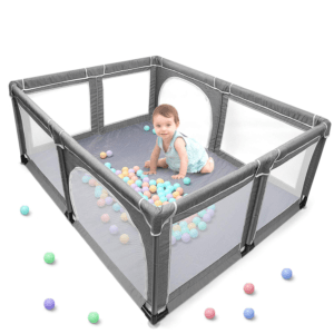 Yobest Baby Playpen Portable Play Yard for Toddlers
