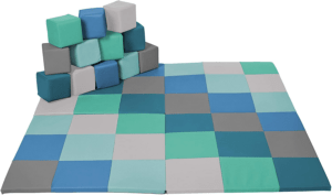 ECR4Kids Softzone Toddler Play Mat Patchwork